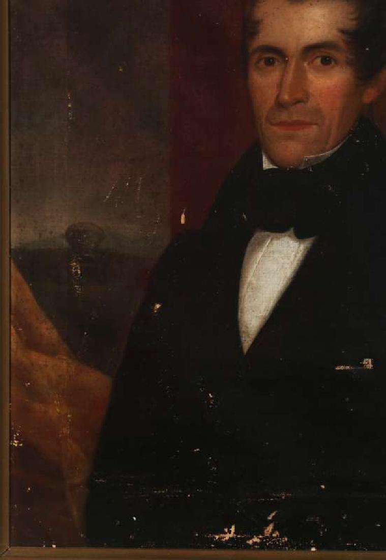 1839 MEDWAY MASSACHUSETTS BELLFOUNDER PORTRAIT - 6