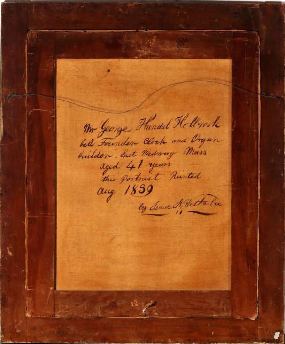 1839 MEDWAY MASSACHUSETTS BELLFOUNDER PORTRAIT - 9