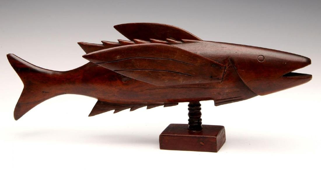 PITCAIRN ISLAND CARVED FLYING FISH SOUVENIR - 5