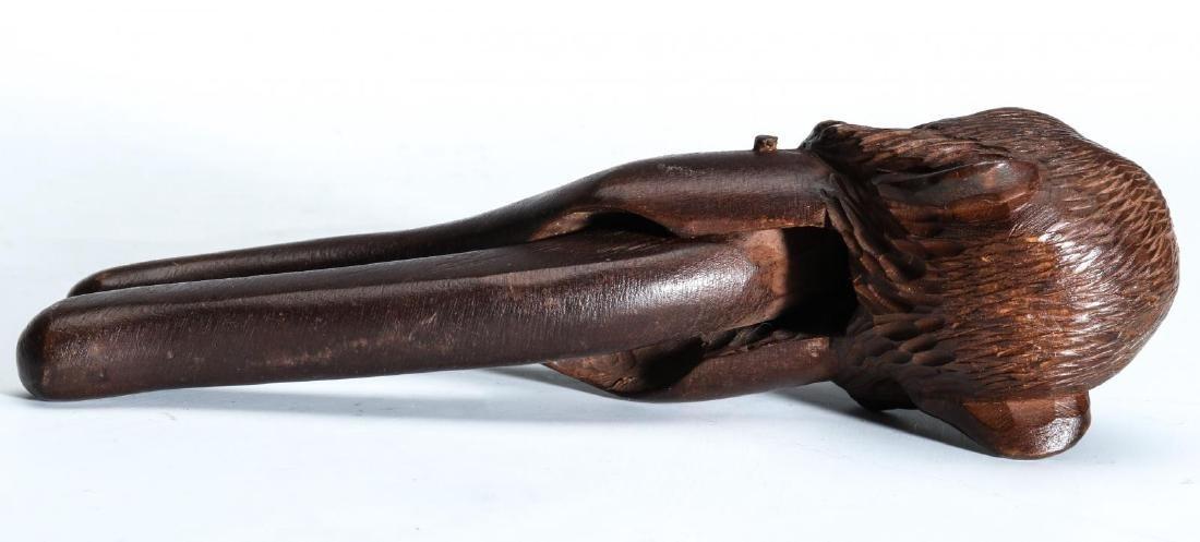A GOOD CIRCA 1900 BLACK FOREST MONKEY NUT CRACKER - 5