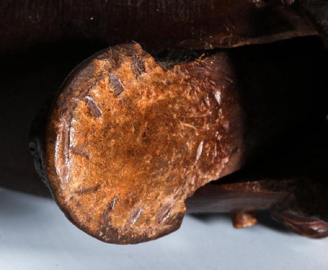 A GOOD CIRCA 1900 BLACK FOREST MONKEY NUT CRACKER - 8