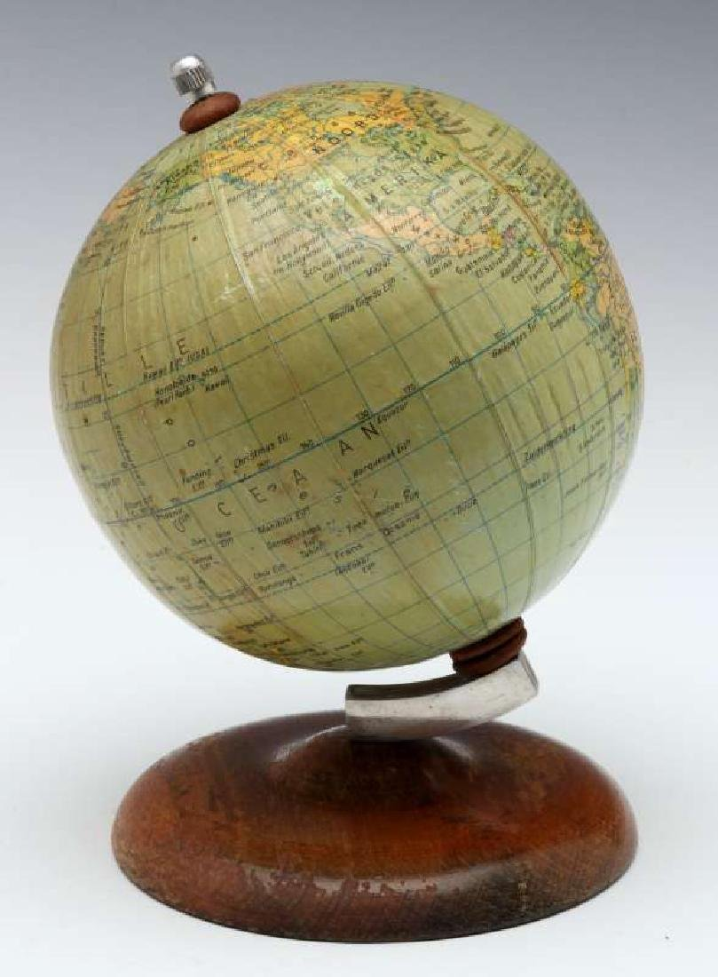 A MID 20TH C. GERMAN DESKTOP TERRESTRIAL GLOBE - 5