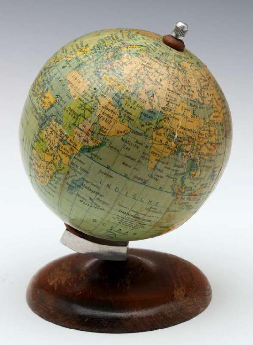 A MID 20TH C. GERMAN DESKTOP TERRESTRIAL GLOBE - 7