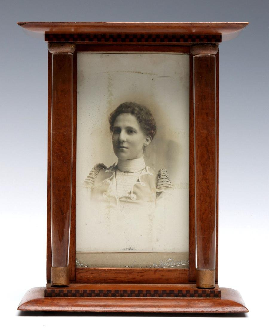 A UNIQUE AND UNUSUAL EDWARDIAN PICTURE FRAME