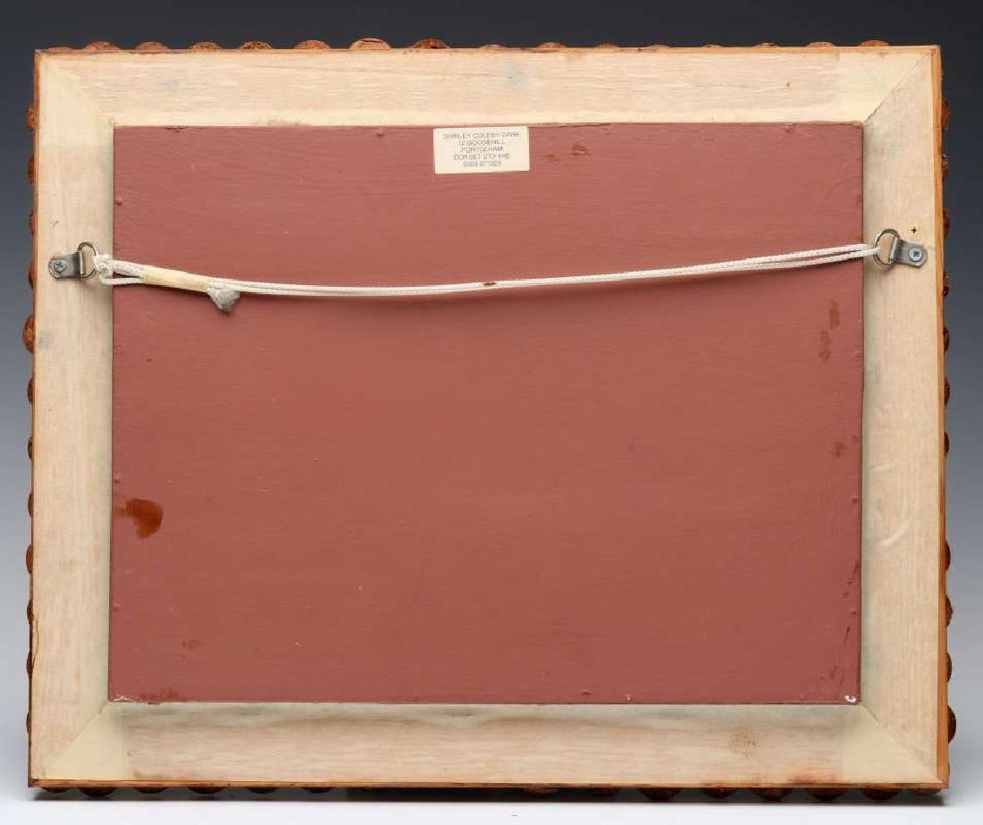 A FOLK ART DRIED SEED FRAME AND HERBARIUM - 9