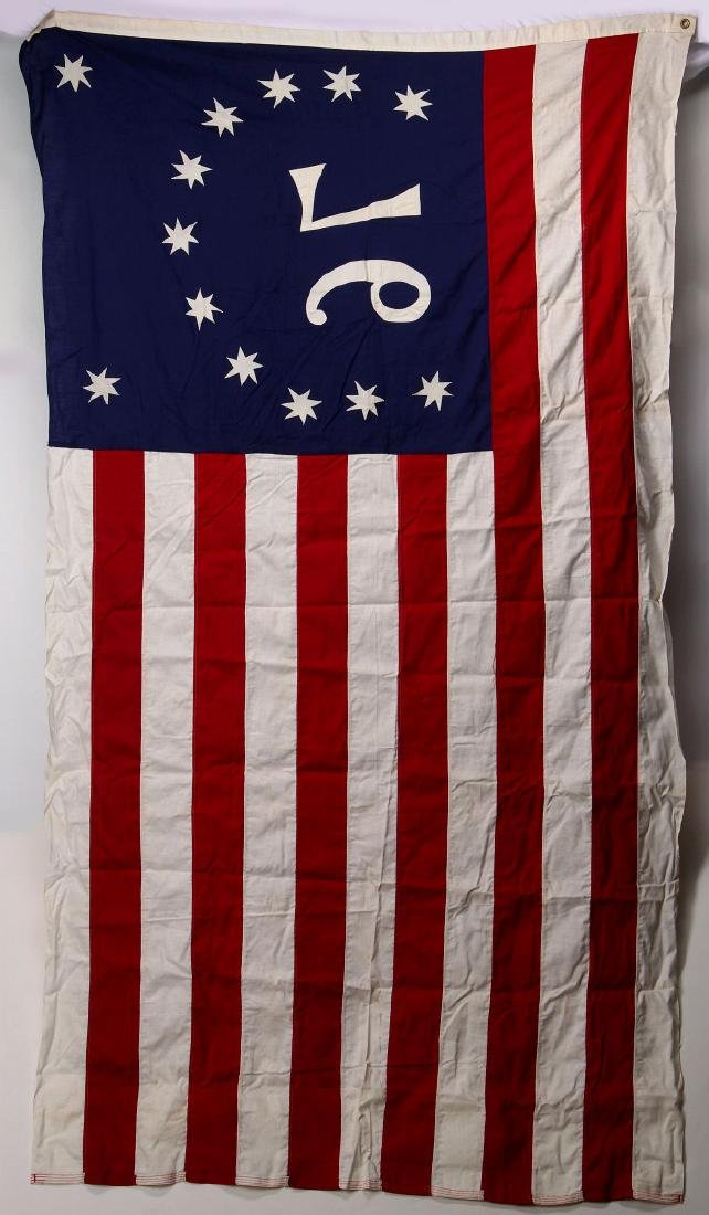 AN AMERICAN BICENTENNIAL FLAG IN BOX - 5