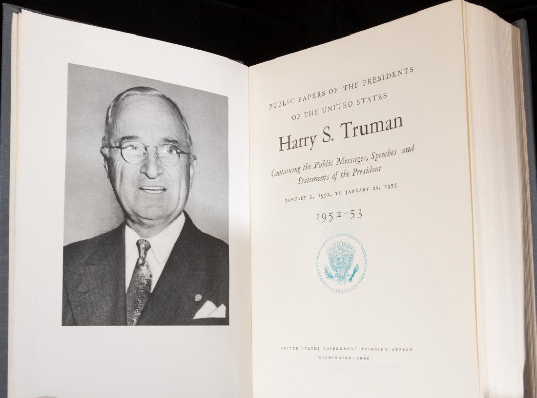 PUBLIC PAPERS OF THE PRESIDENTS - HARRY TRUMAN