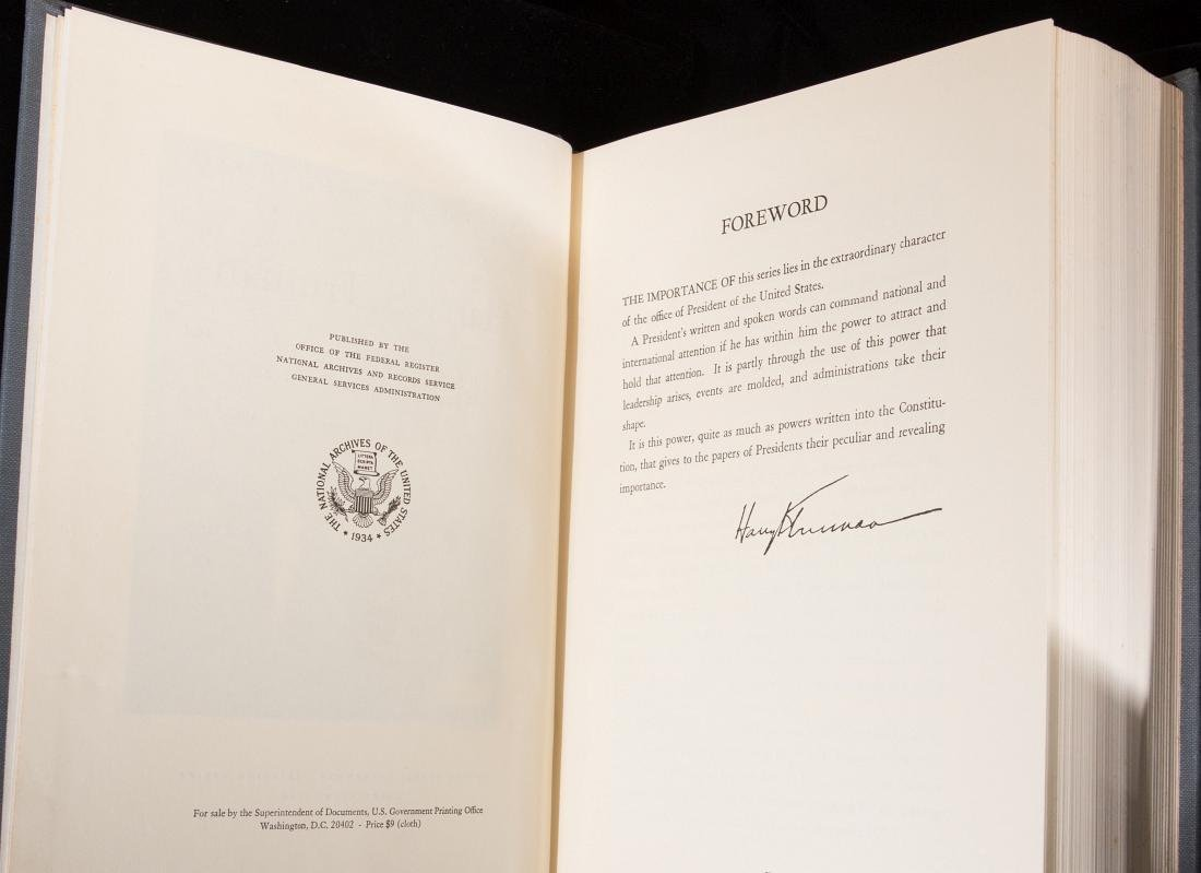 PUBLIC PAPERS OF THE PRESIDENTS - HARRY TRUMAN - 8