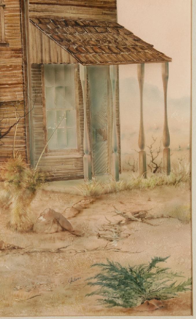 CARL ADAMS (20TH C.) ACRYLIC ON BOARD - 5
