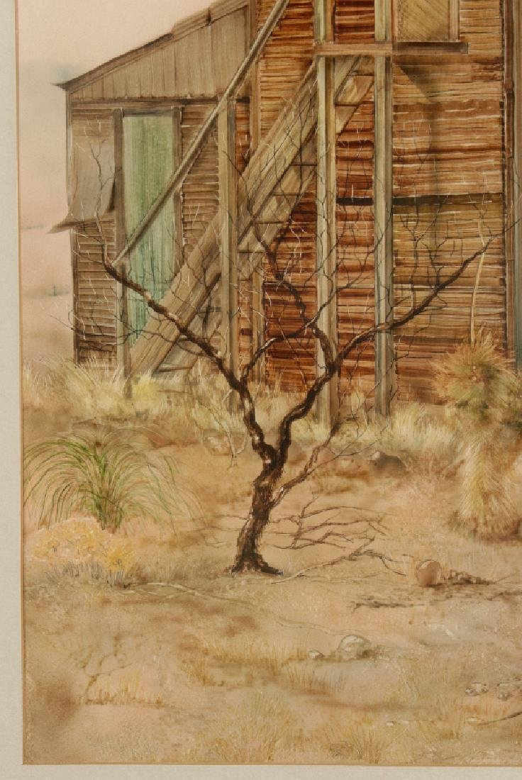 CARL ADAMS (20TH C.) ACRYLIC ON BOARD - 6