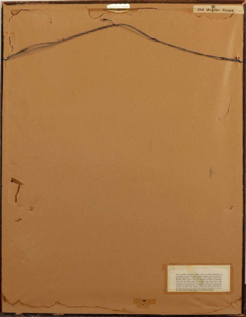 CARL ADAMS (20TH C.) ACRYLIC ON BOARD - 8