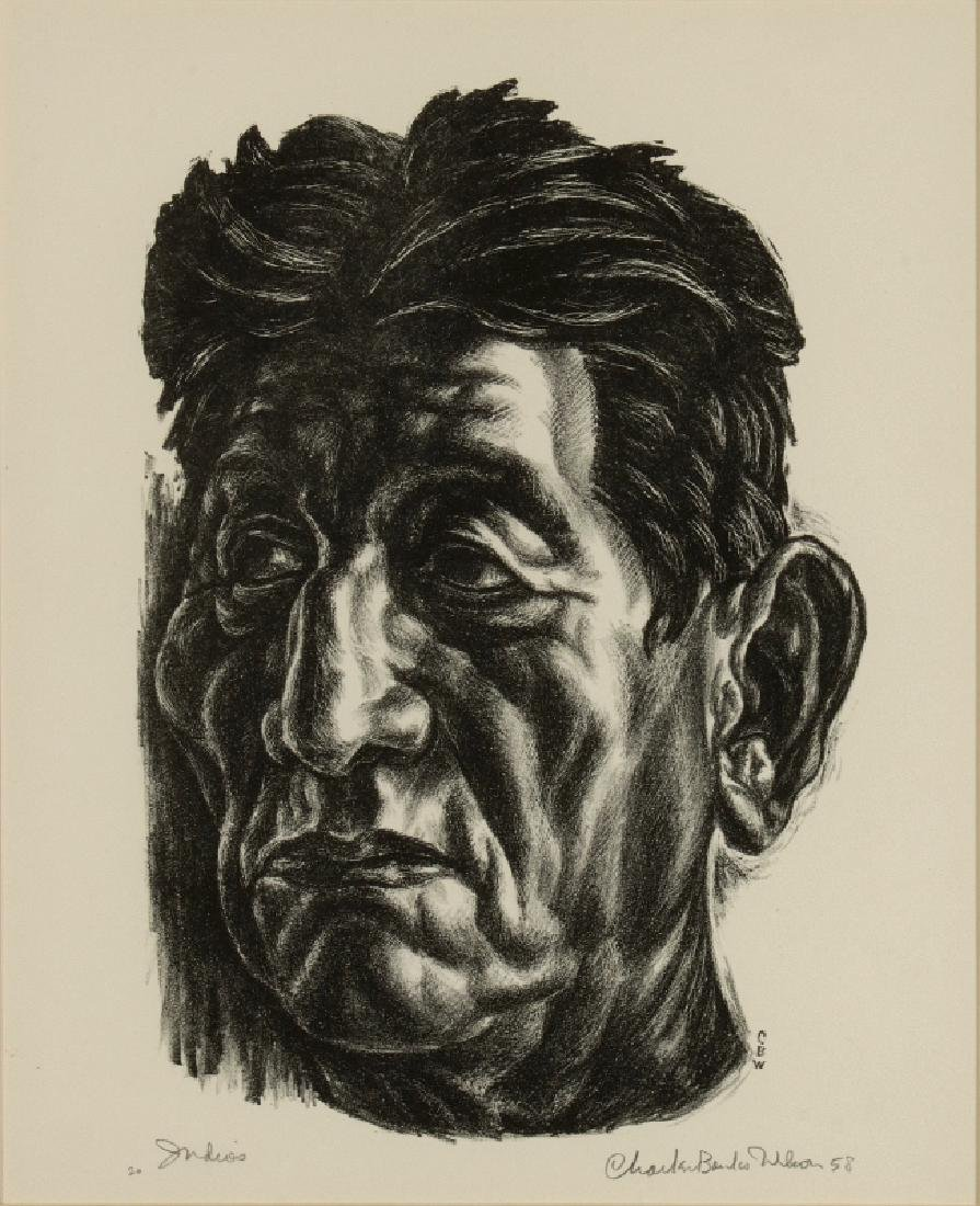 CHARLES BANKS WILSON (1918-2013) SIGNED LITHOGRAPH