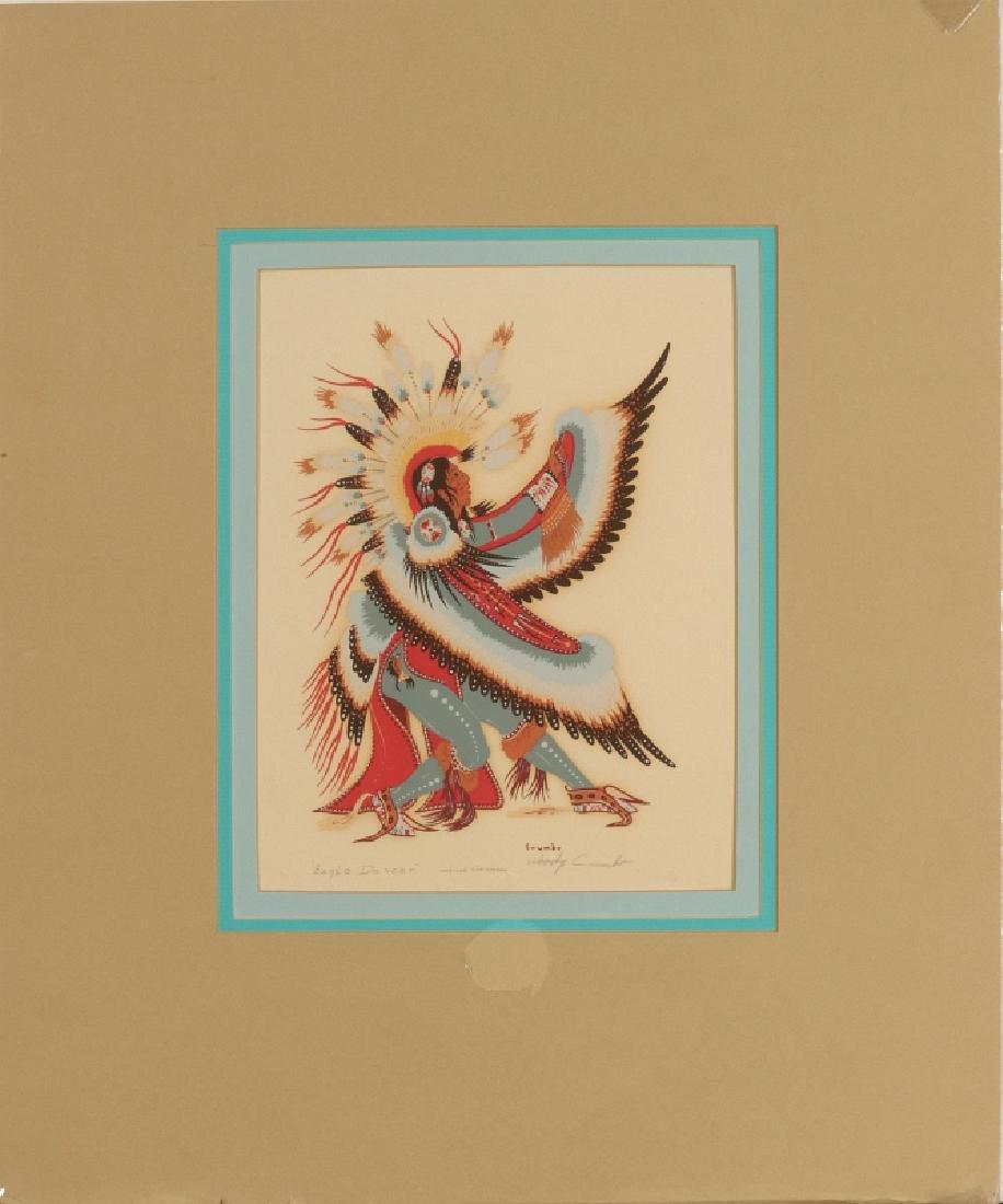 WOODY CRUMBO (1912-1989) PENCIL SIGNED SILK SCREEN - 2
