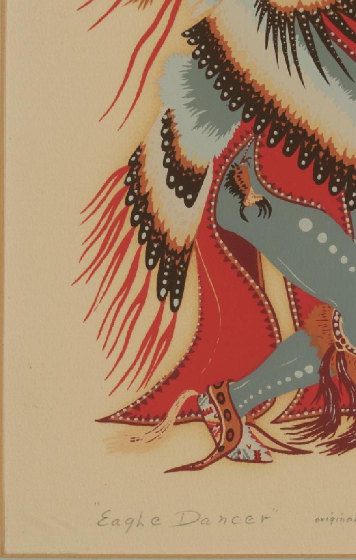 WOODY CRUMBO (1912-1989) PENCIL SIGNED SILK SCREEN - 4