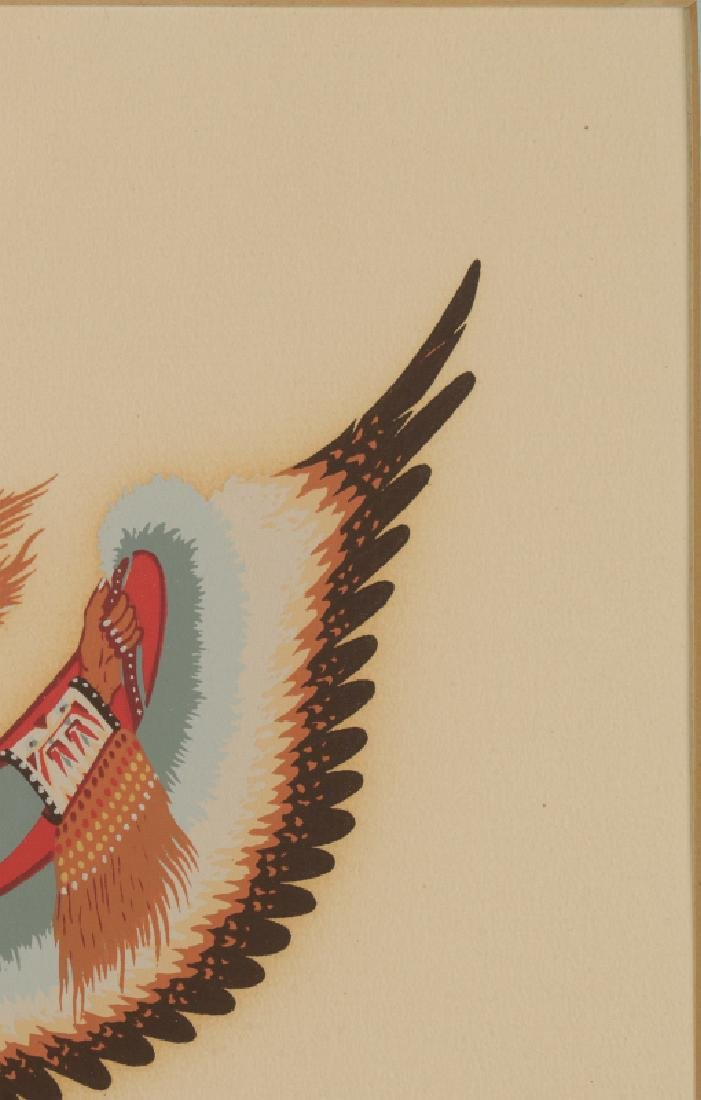 WOODY CRUMBO (1912-1989) PENCIL SIGNED SILK SCREEN - 5