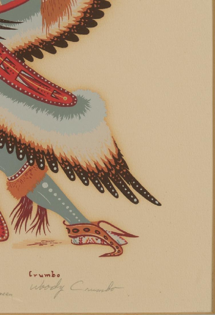 WOODY CRUMBO (1912-1989) PENCIL SIGNED SILK SCREEN - 6