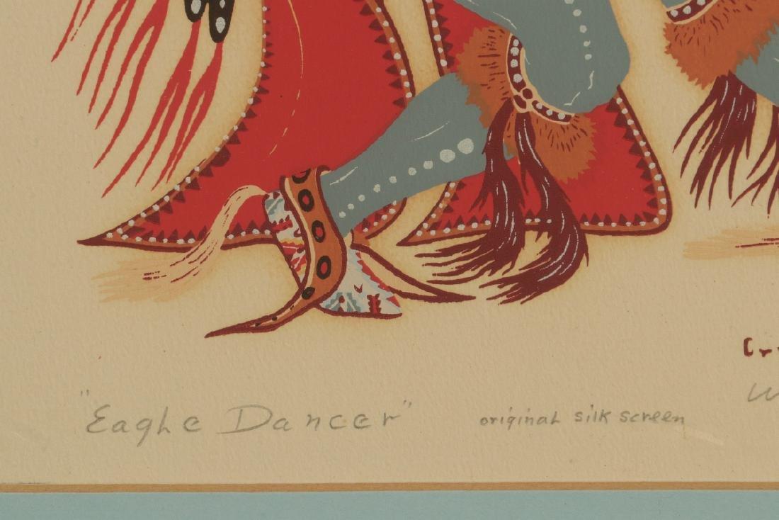 WOODY CRUMBO (1912-1989) PENCIL SIGNED SILK SCREEN - 7
