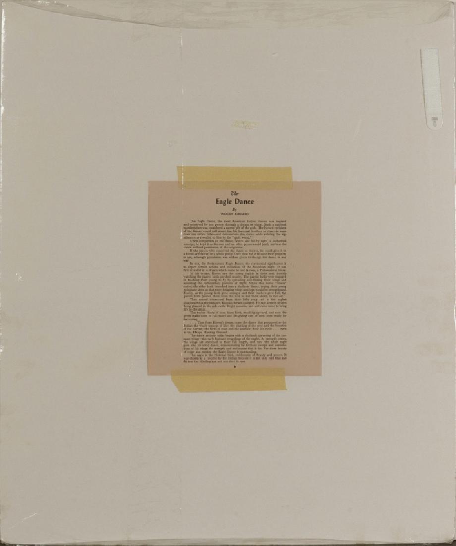 WOODY CRUMBO (1912-1989) PENCIL SIGNED SILK SCREEN - 9