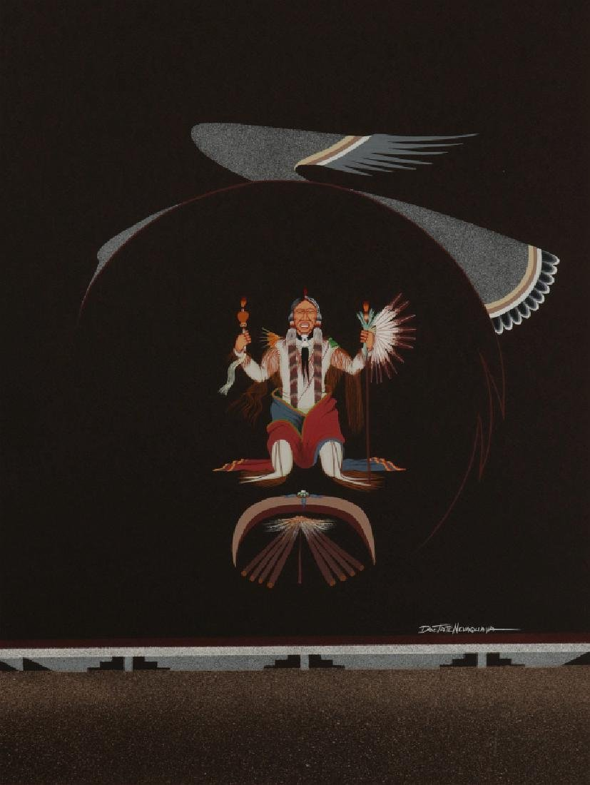 DOC TATE NEVAQUAYA (1932-1996) MIXED MEDIA
