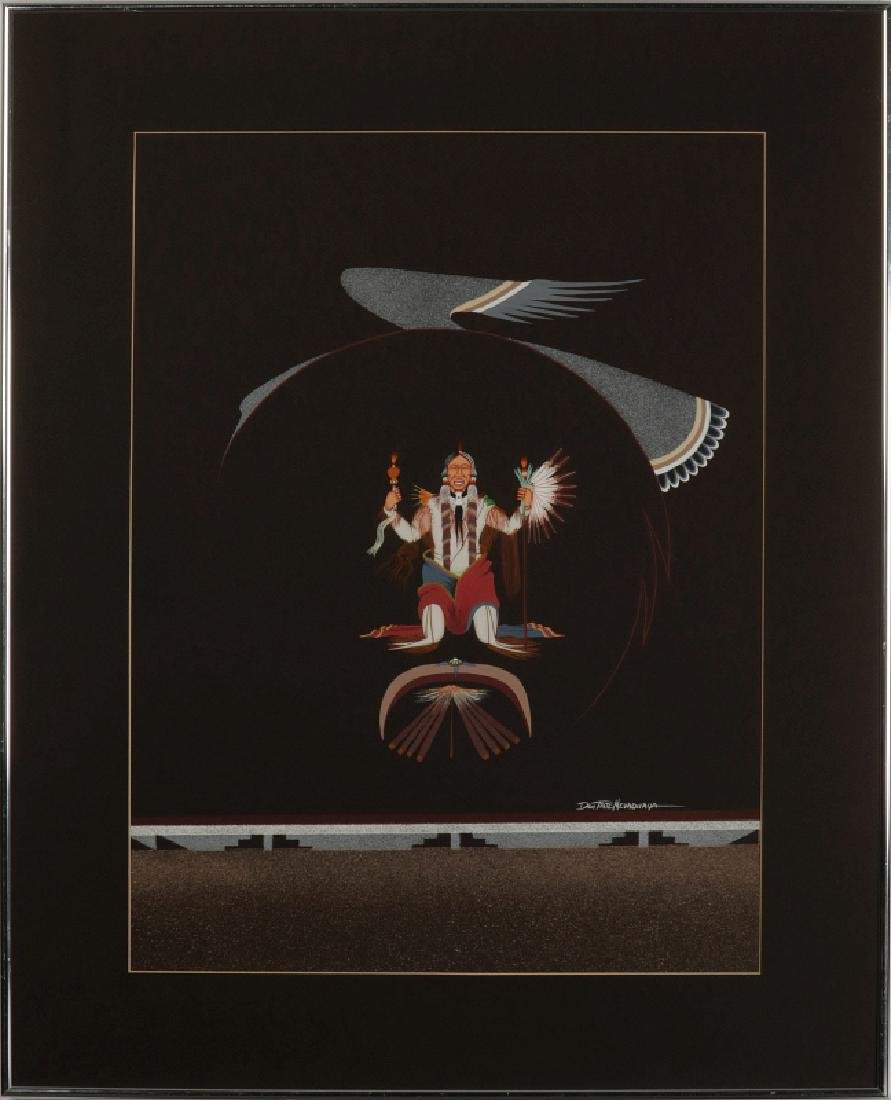 DOC TATE NEVAQUAYA (1932-1996) MIXED MEDIA - 2