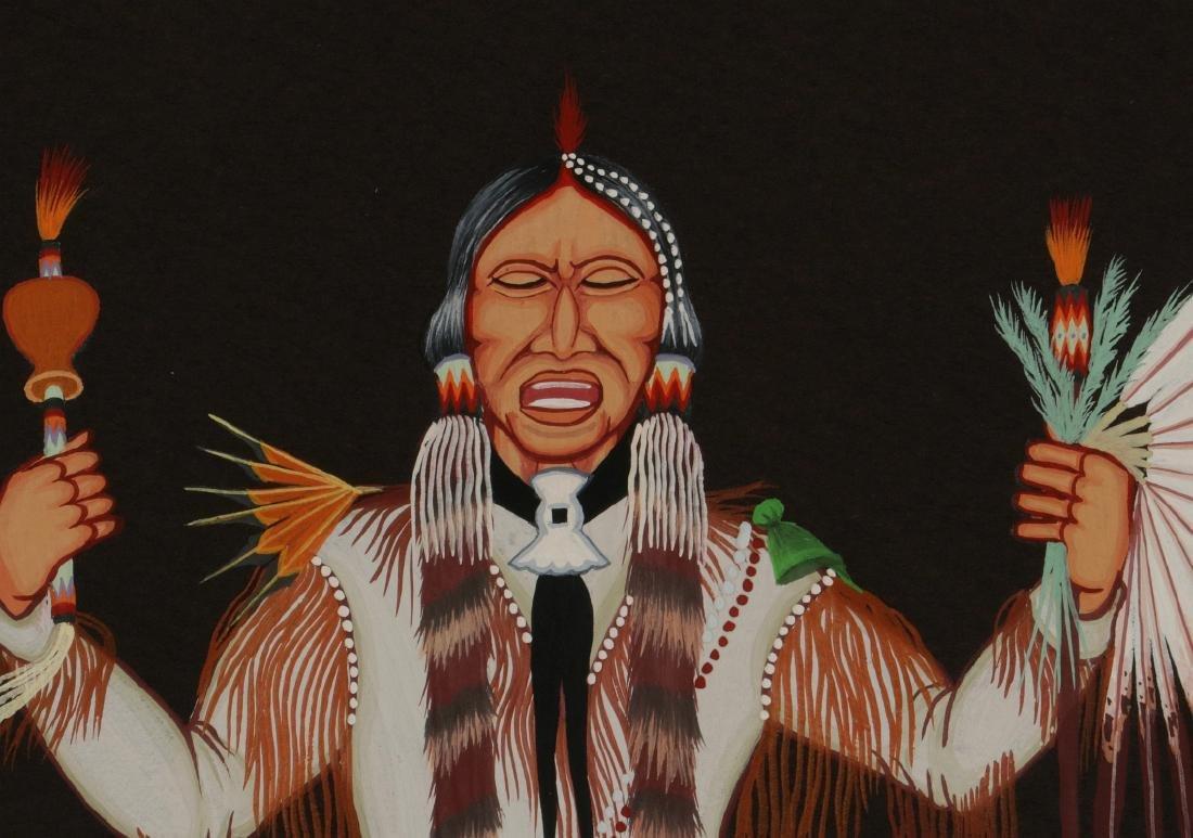 DOC TATE NEVAQUAYA (1932-1996) MIXED MEDIA - 8