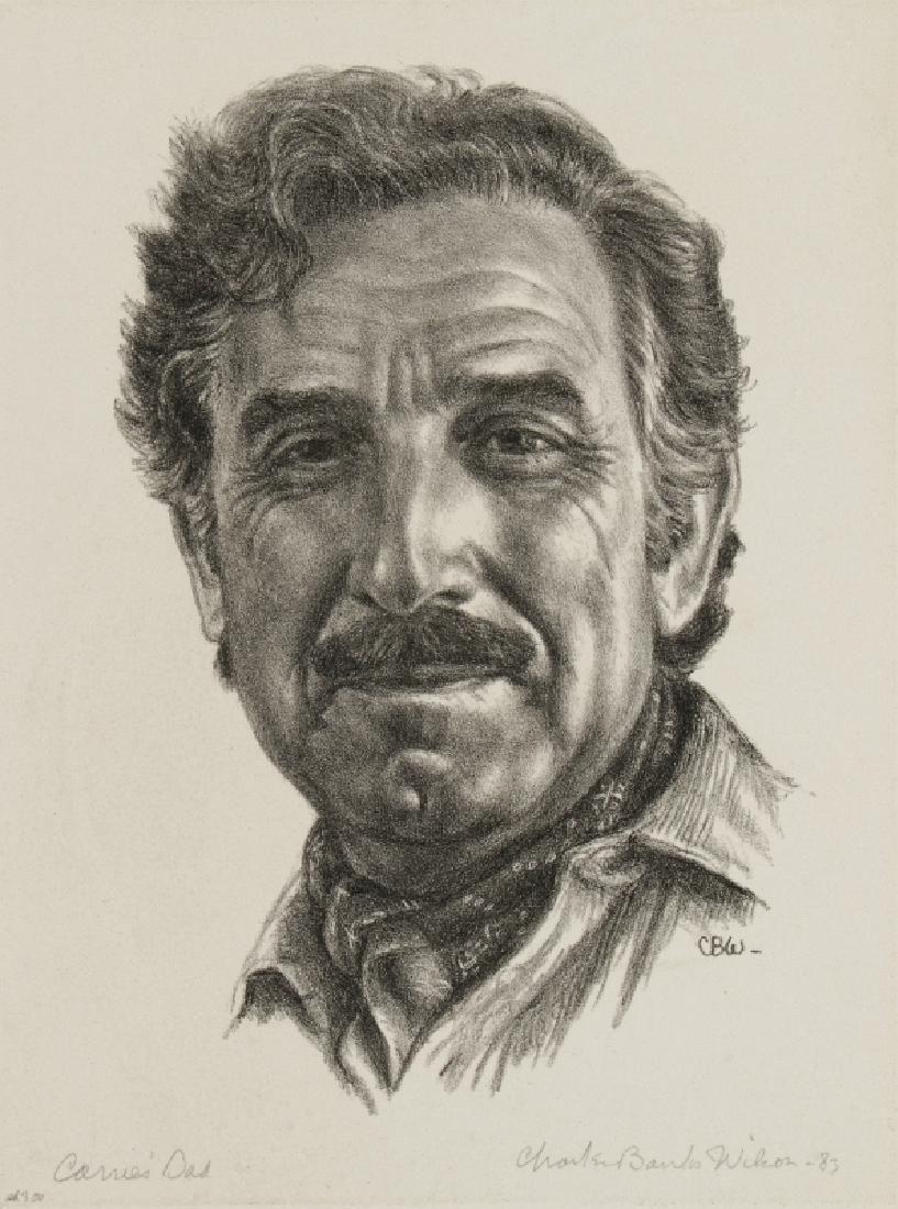 CHARLES BANKS WILSON (1918-2013) SIGNED LITHO