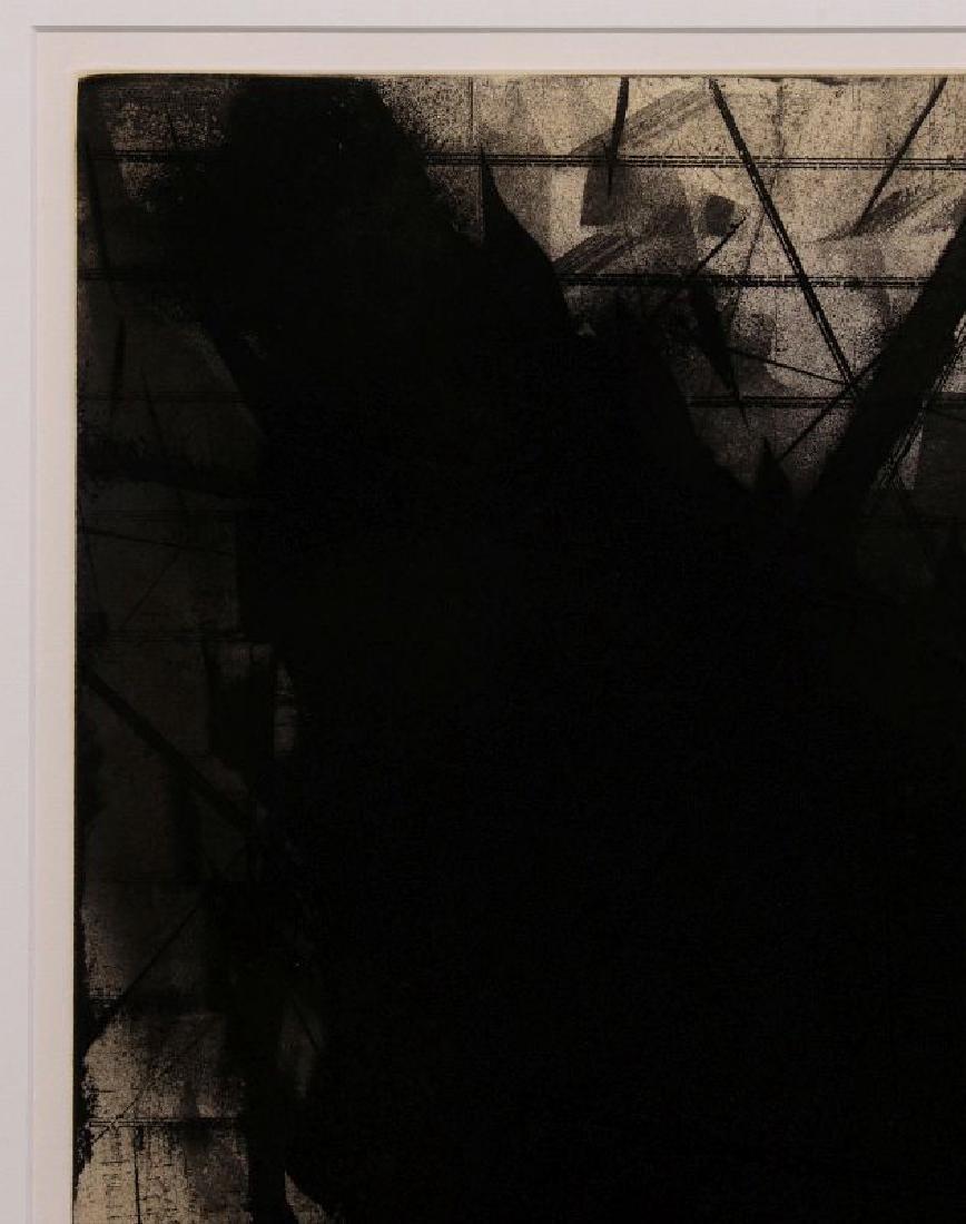 HUGH MERRILL (1949-) PENCIL SIGNED ETCHING - 2