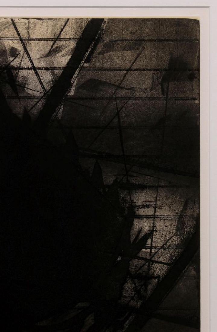 HUGH MERRILL (1949-) PENCIL SIGNED ETCHING - 3