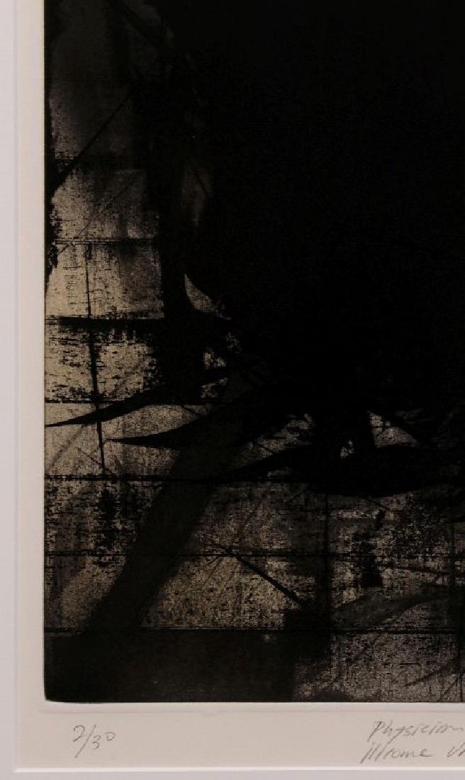 HUGH MERRILL (1949-) PENCIL SIGNED ETCHING - 5