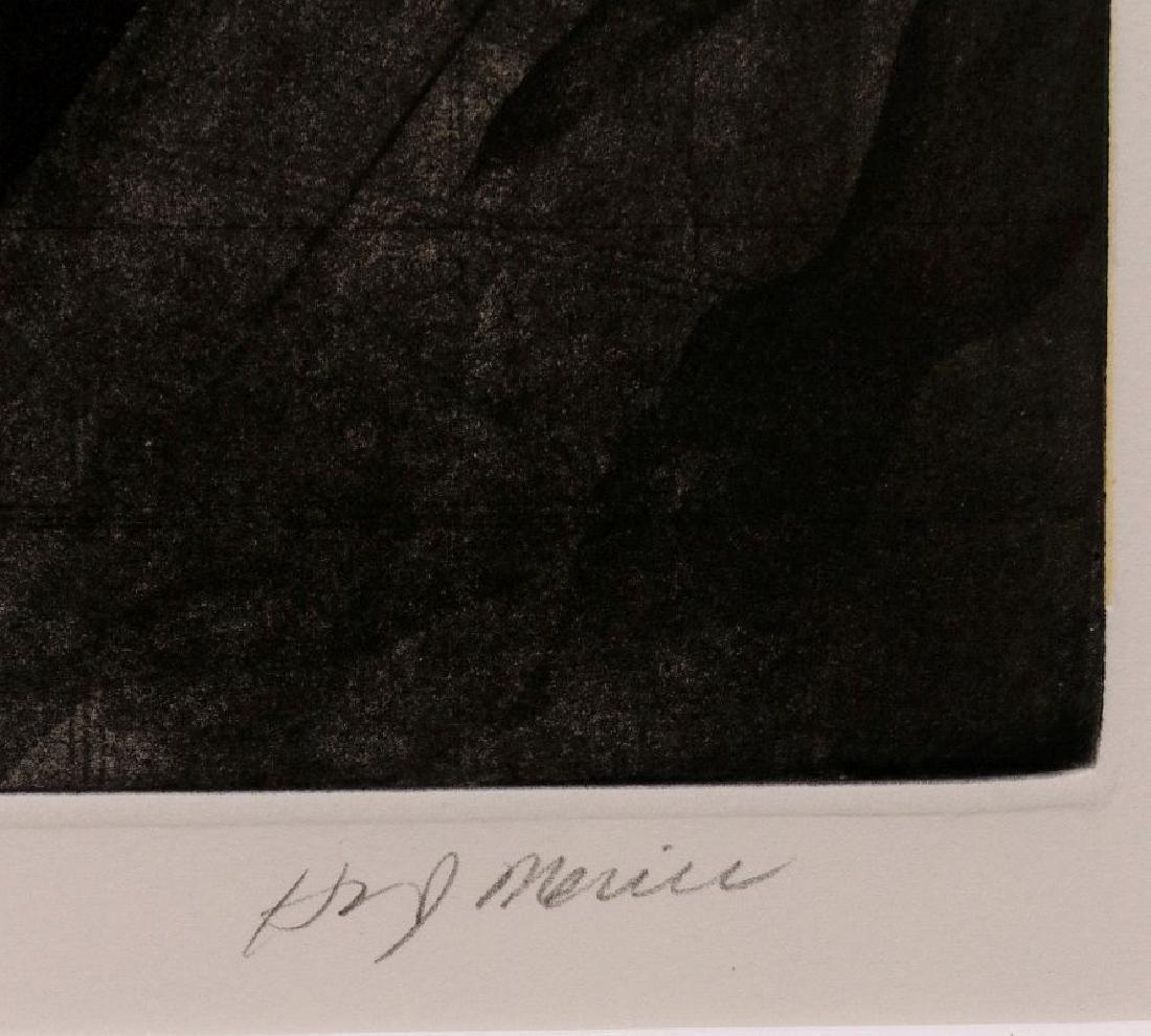 HUGH MERRILL (1949-) PENCIL SIGNED ETCHING - 7