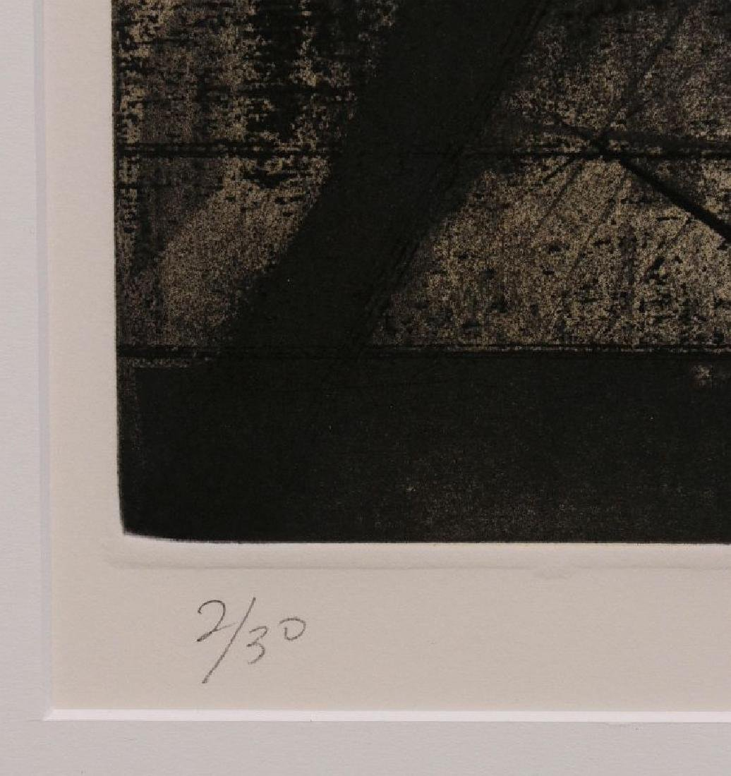 HUGH MERRILL (1949-) PENCIL SIGNED ETCHING - 8