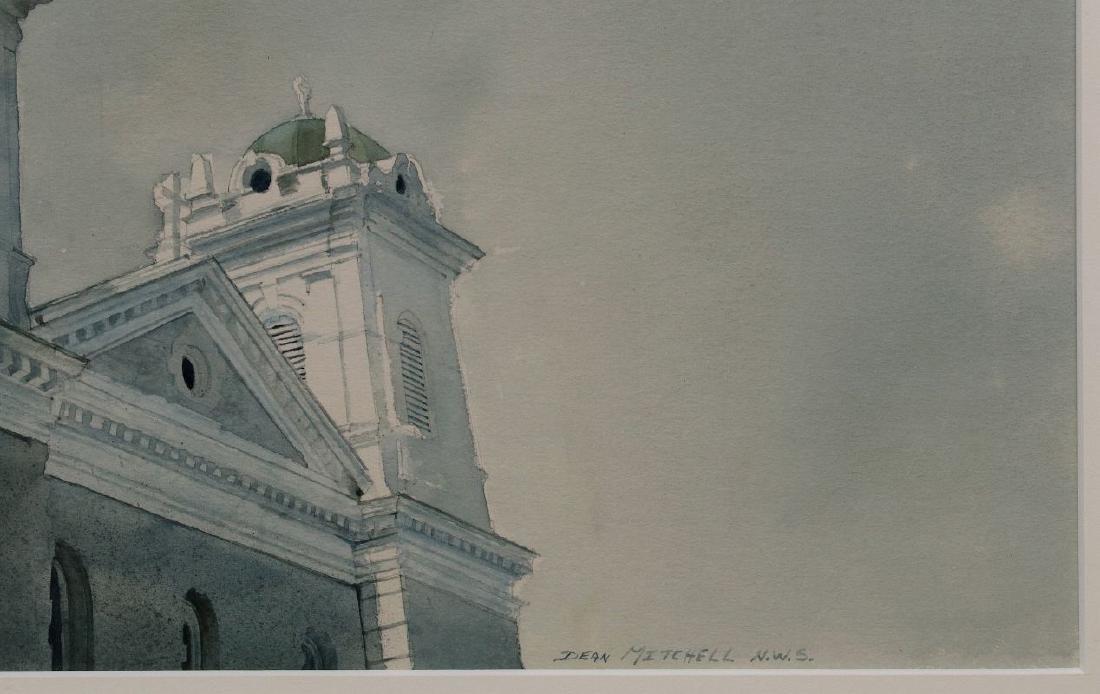 DEAN MITCHELL (1957-) KANSAS CITY WATERCOLOR - 5
