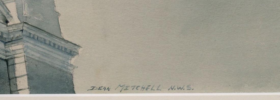 DEAN MITCHELL (1957-) KANSAS CITY WATERCOLOR - 7