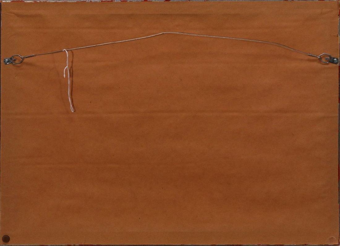 DEAN MITCHELL (1957-) KANSAS CITY WATERCOLOR - 8