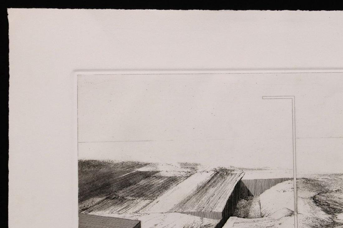 EVAN SUMMER (20th/21st C) PENCIL SIGNED ETCHING - 3