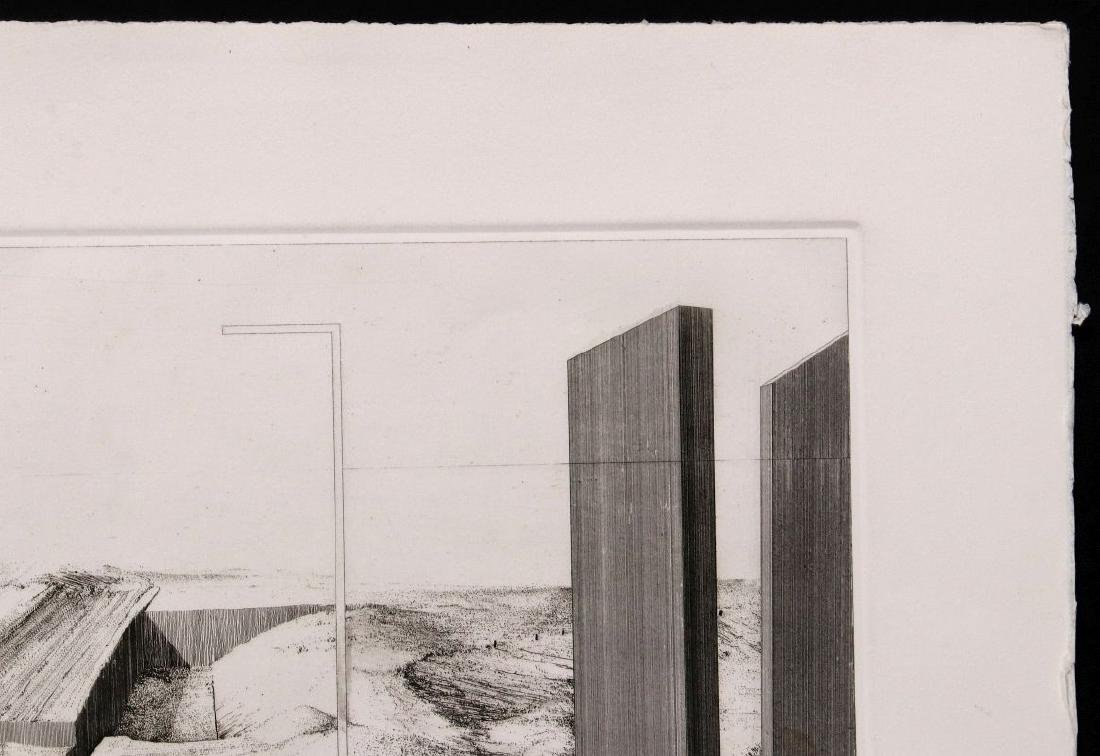 EVAN SUMMER (20th/21st C) PENCIL SIGNED ETCHING - 4