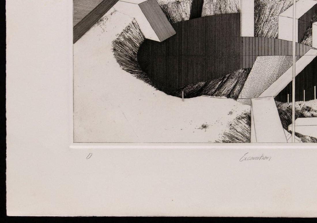 EVAN SUMMER (20th/21st C) PENCIL SIGNED ETCHING - 6