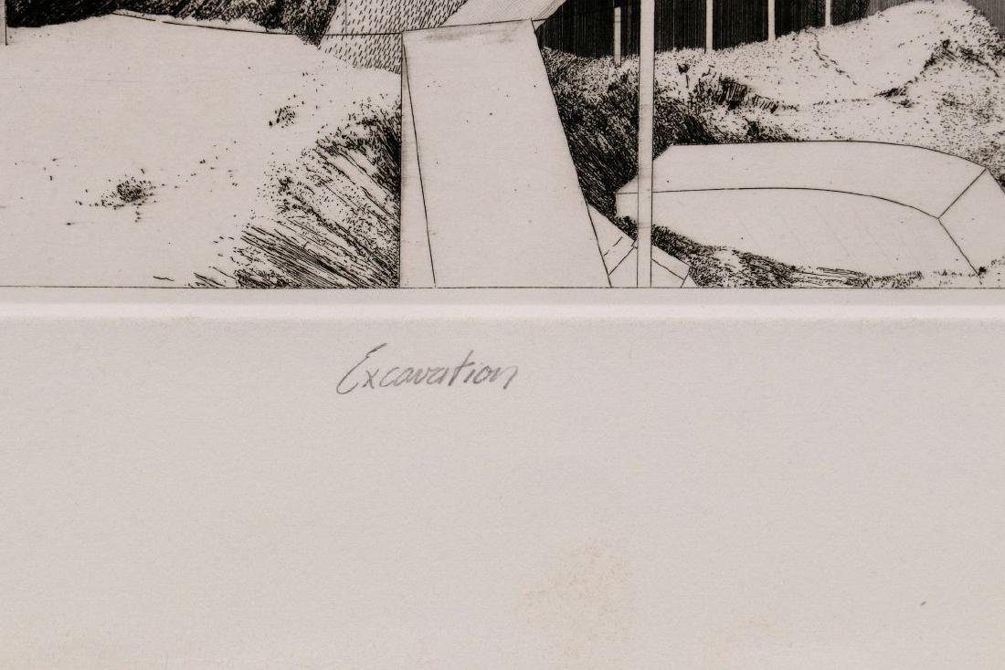 EVAN SUMMER (20th/21st C) PENCIL SIGNED ETCHING - 8