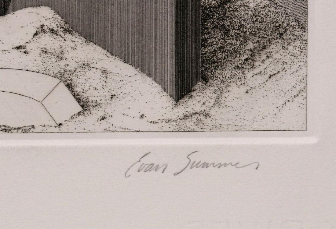 EVAN SUMMER (20th/21st C) PENCIL SIGNED ETCHING - 9