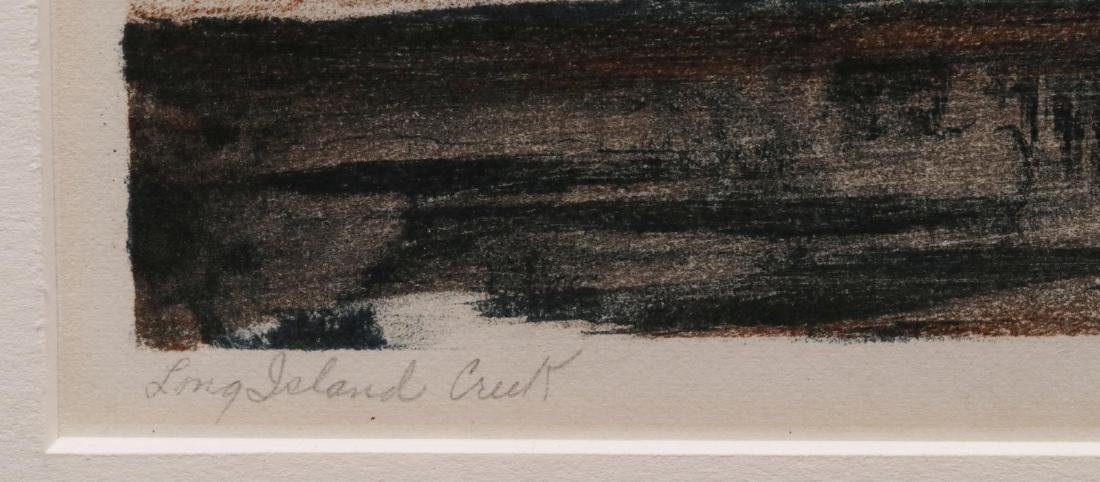 EMIL GANSO (1895-1941) PENCIL SIGNED LITHOGRAPH - 7