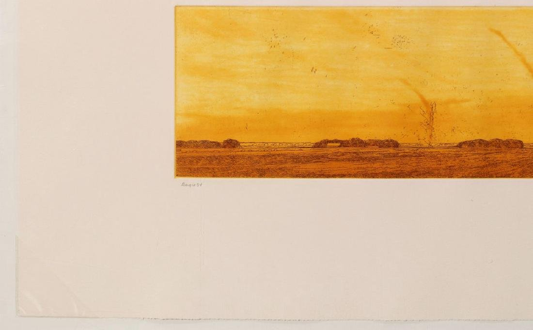 KEITH JACOBSHAGEN (B. 1941) SIGNED COLOR ETCHING - 6