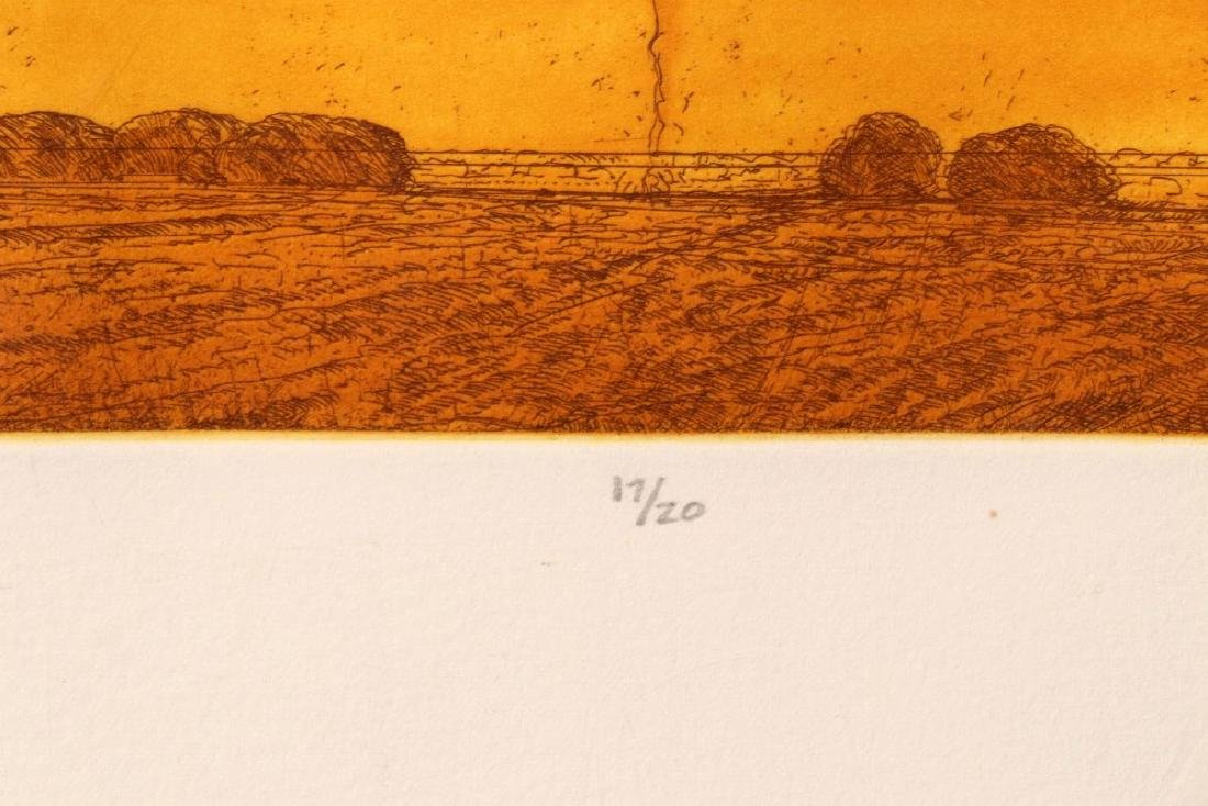 KEITH JACOBSHAGEN (B. 1941) SIGNED COLOR ETCHING - 8