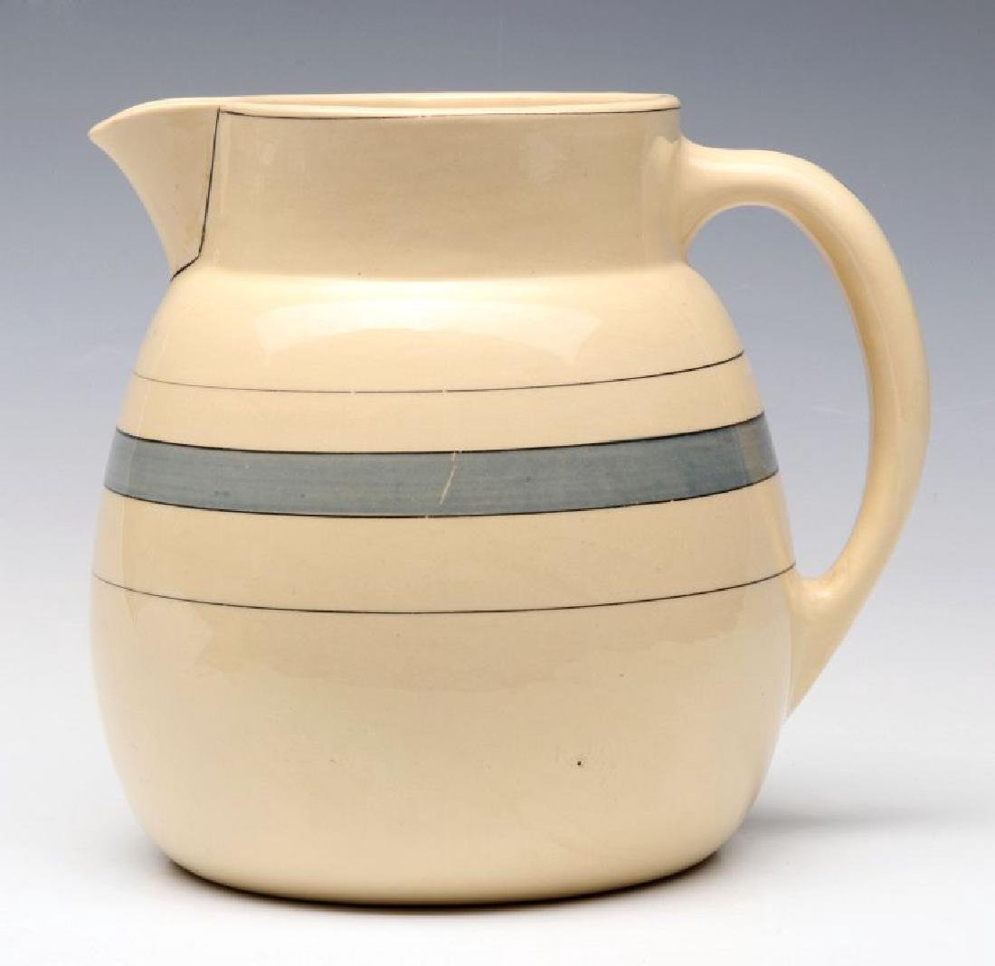 AN EARLY ROSEVILLE POTTERY PITCHER - 5