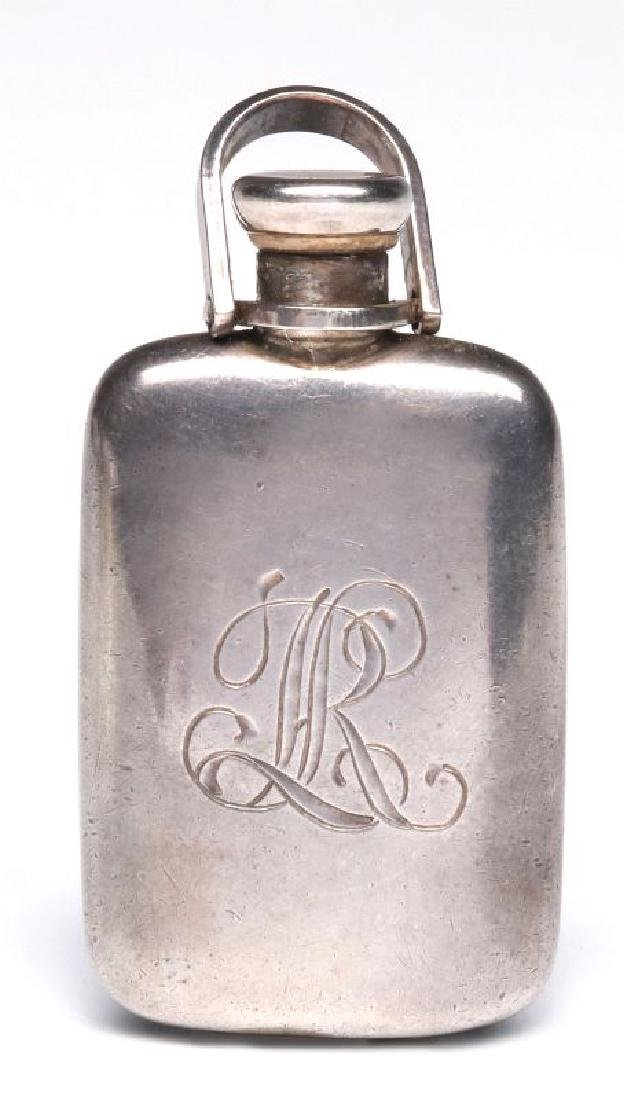A STERLING SILVER PERFUME PENDANT