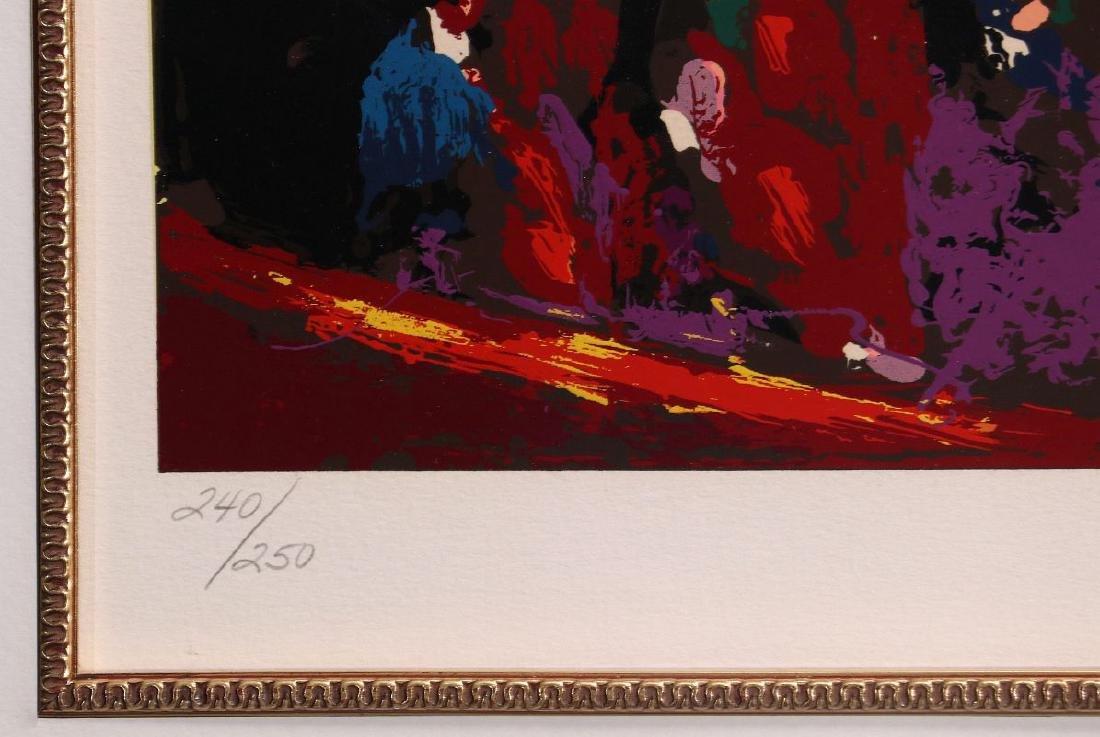 LEROY NEIMAN (1921-2012) PENCIL SIGNED SERIGRAPH - 7