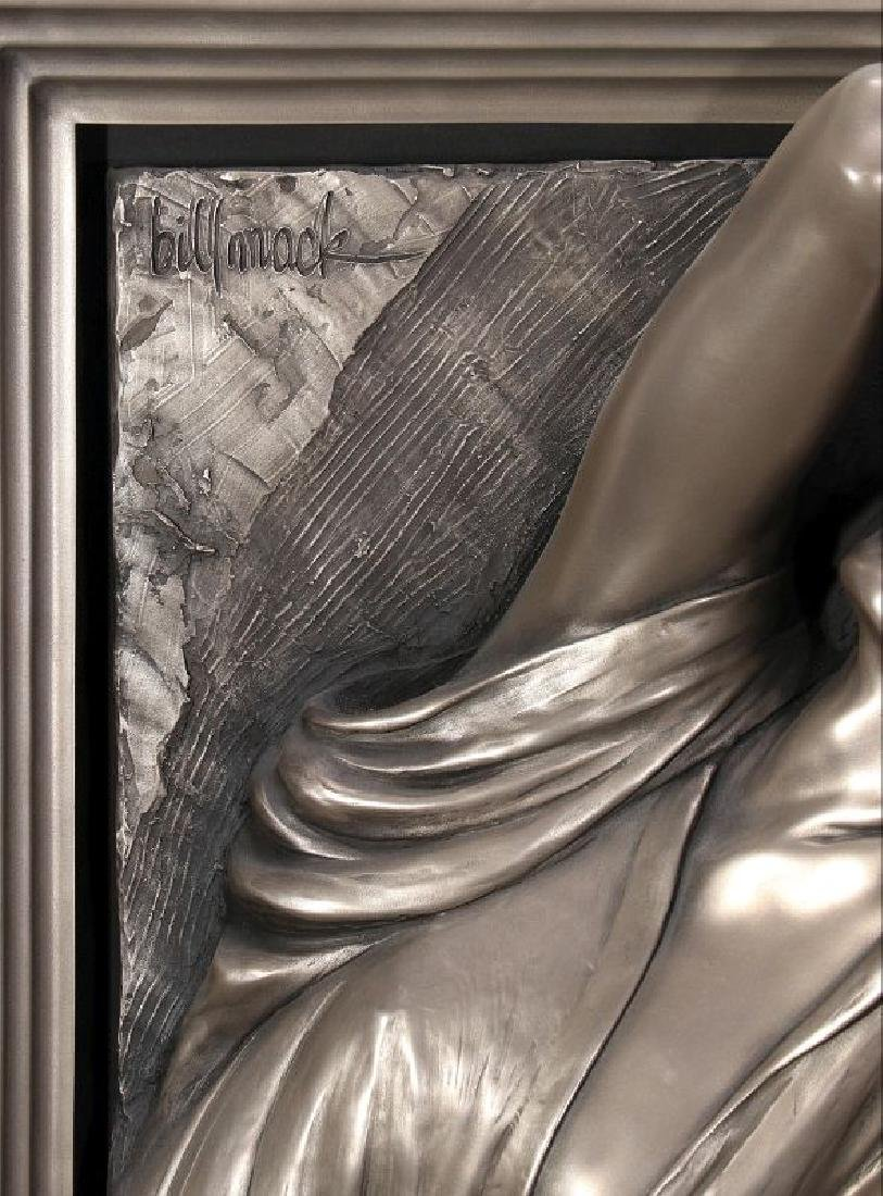 BILL MACK (1949-) BONDED BRONZE SCULPTURE - 2