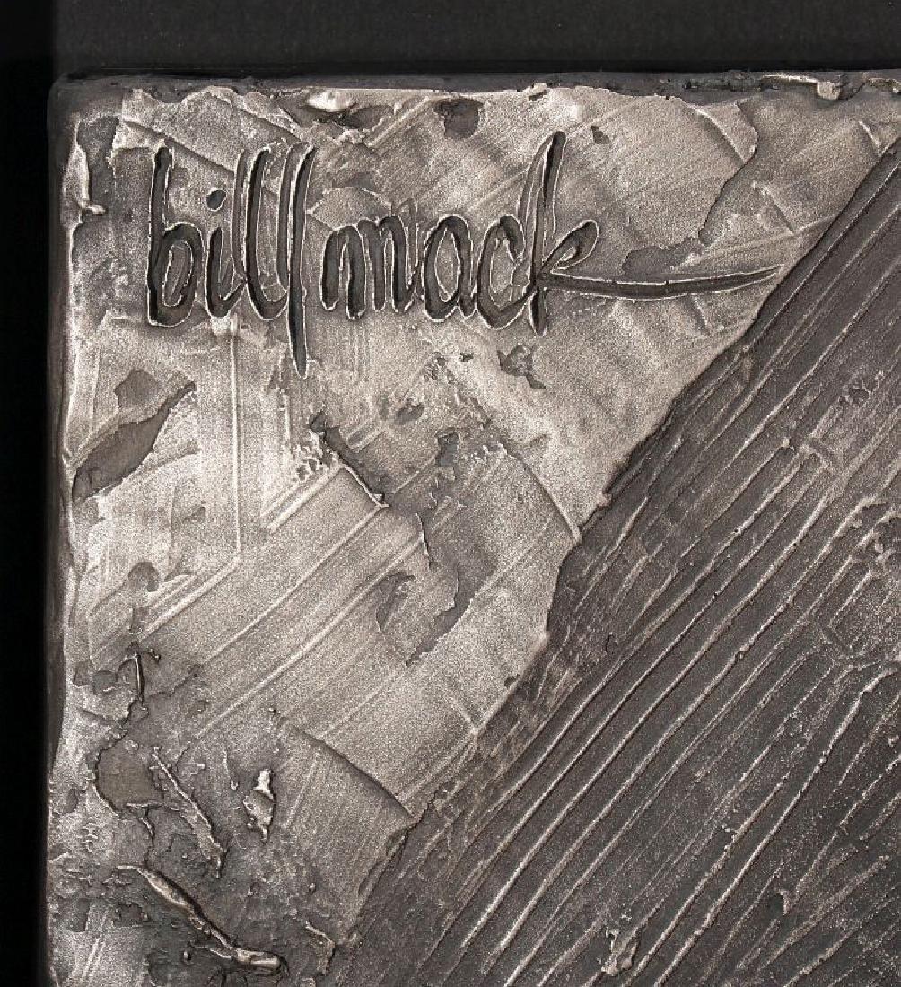 BILL MACK (1949-) BONDED BRONZE SCULPTURE - 6