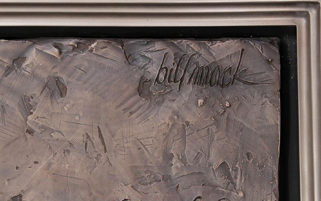 BILL MACK (1949-) ALTO RELIEF SCULPTURE - 7