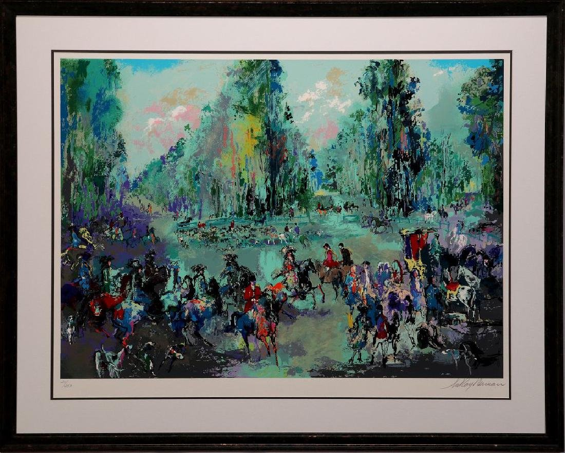 LEROY NEIMAN (1921-2012) PENCIL SIGNED SERIGRAPH - 2