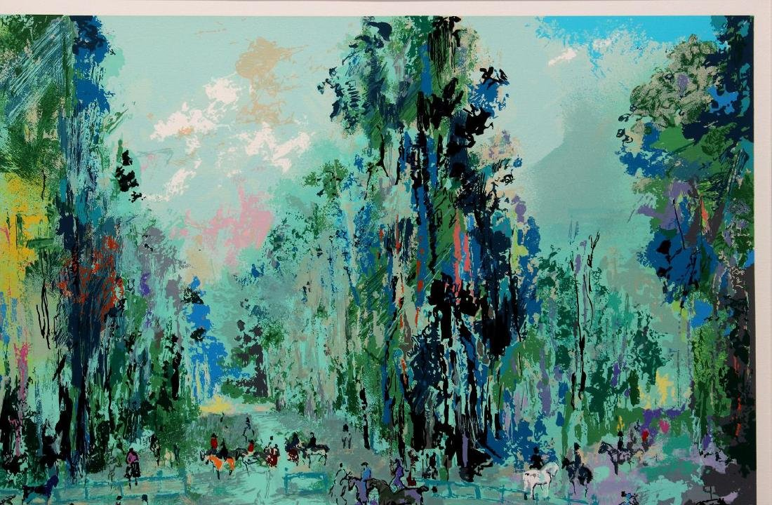 LEROY NEIMAN (1921-2012) PENCIL SIGNED SERIGRAPH - 4